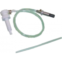 Sierra Oil pump with hose and nipple. Fits 0,946l bottles (1/4 gallon)