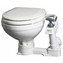 Johnson Pump AquaT manual toilets (soft-close)