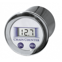 Chain counter with LCD-Display, 60x60x10mm