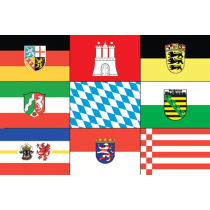 German state flags 20x30cm