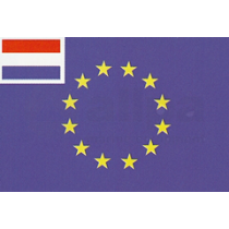 National flags with EU-insert 40x60cm