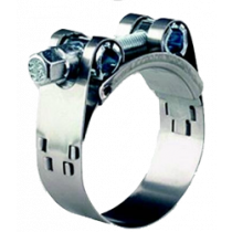 allpa Stainless Steel Hose Clamps with bolt