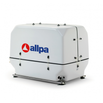 allpa marine diesel generating sets with soundproof box, variable Speed 2000-3000 RPM