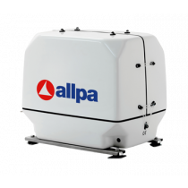 allpa Marine diesel generating sets with soundproof box, 1500 RPM
