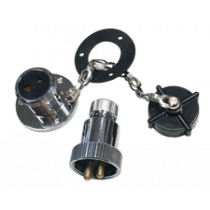 allpa chromed-brass watertight connectors