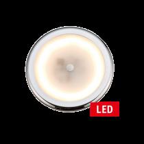 allpa LED Dome Light dimmable, Ø105 mm, 9-16V, 6W, warm White LED