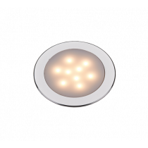 allpa LED Dome Light, Ø55 mm, 12V, 3W, warm White LED