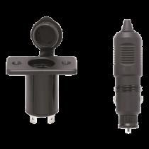 allpa socket with plug, 12V/10A