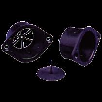 Drain socket with non-return-valve