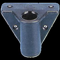 Nylon rowlock socket, side mount