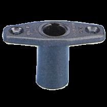 Nylon rowlock socket, universal mount