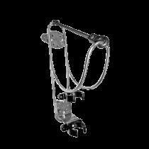 Stainless steel lifebuoy holder