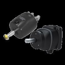 Helms hydraulic steering sterndrive