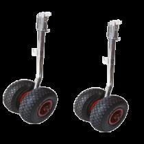 Launching Wheels double