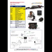 SeaStar Set Optimus EPS Outboard 1 Engine – 1 Station