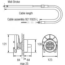 """Steering Helm """"NFB"""" 4.2 Rotary"""
