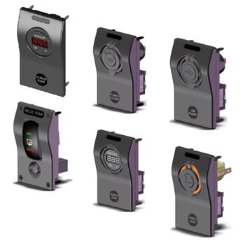allpa modulair single function mini switch panels, 12V